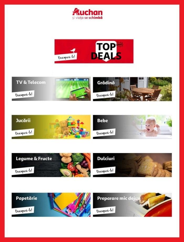 catalog Auchan online cu oferta de saptamana aceasta